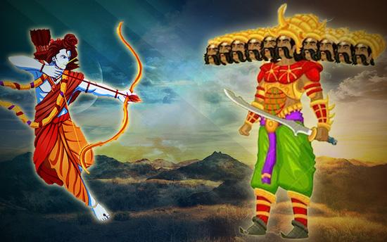 रावण से एक मुलाक़ात : व्यंग्य (मुकेश नेमा)